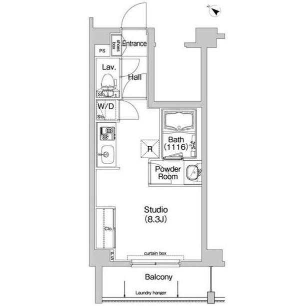 コンフォリア神楽坂308号室