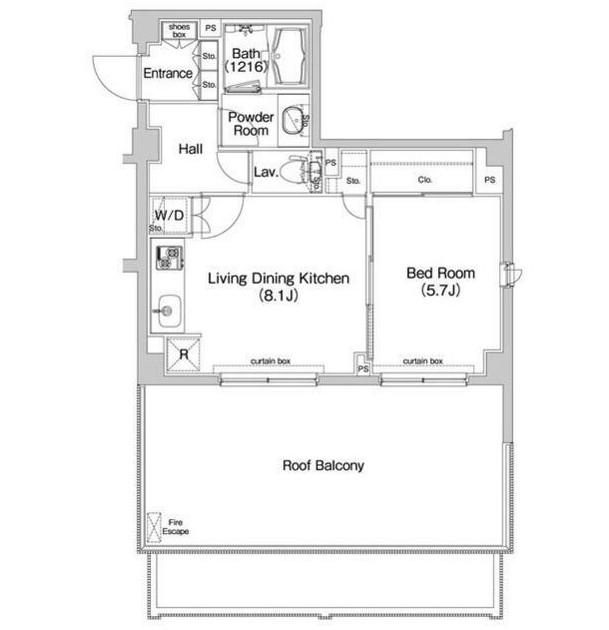 コンフォリア神楽坂601号室