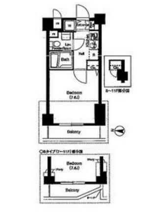 フィオリトゥーラ三軒茶屋S・F902号室