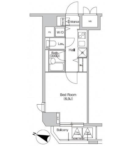 プライムアーバン西新宿Ⅰ1005号室