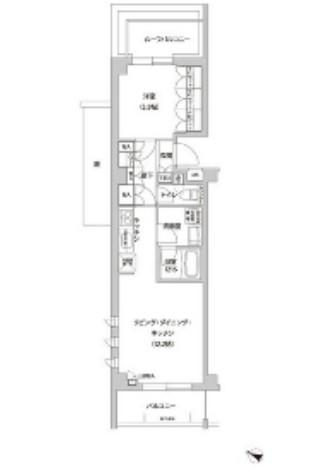 フレアージュ白金台210号室