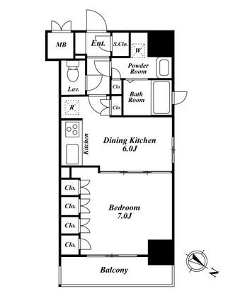 プレミアステージ駒込1401号室