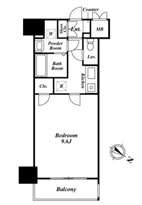 プレミアステージ駒込1404号室