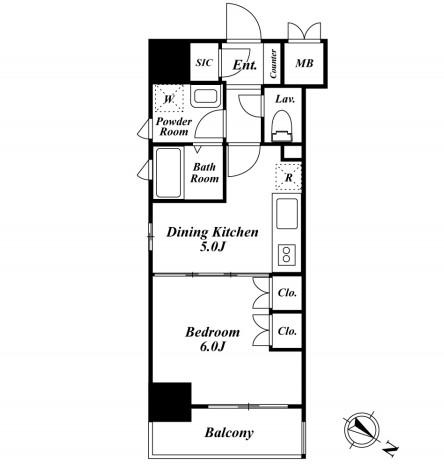 プレミアステージ駒込204号室