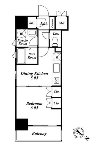 プレミアステージ駒込606号室