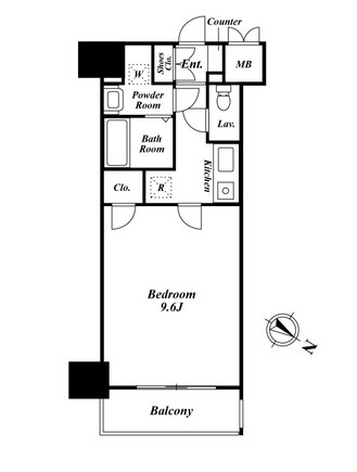 プレミアステージ駒込704号室