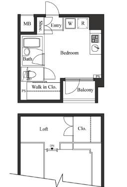 ベルフェリーク小石川703号室