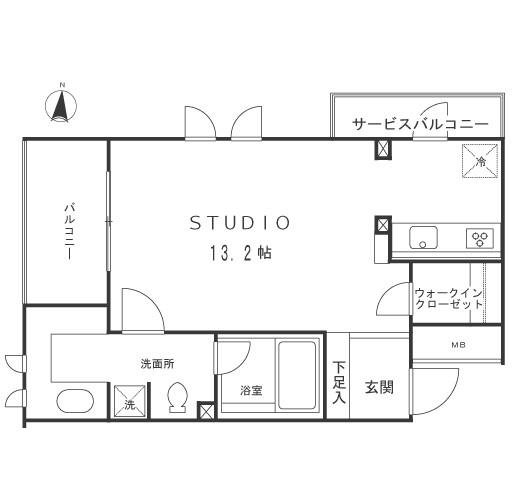 マーサル中野坂上201号室
