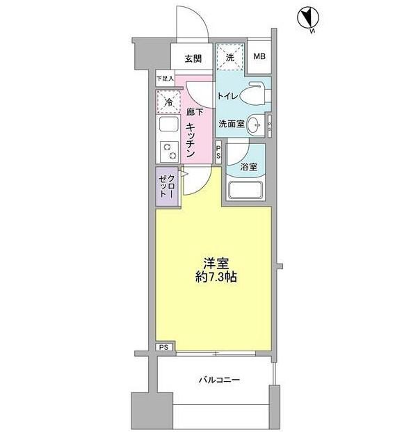 メインステージ白金高輪駅前1102号室