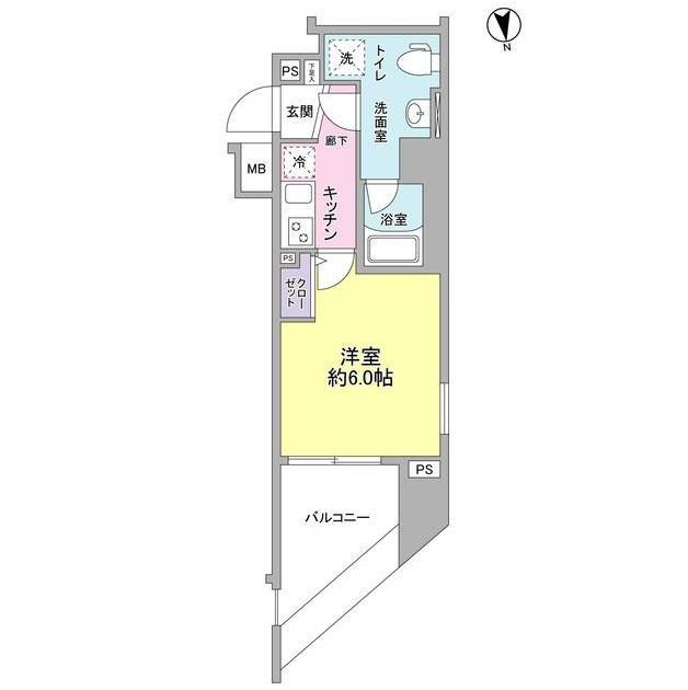 メインステージ白金高輪駅前1201号室