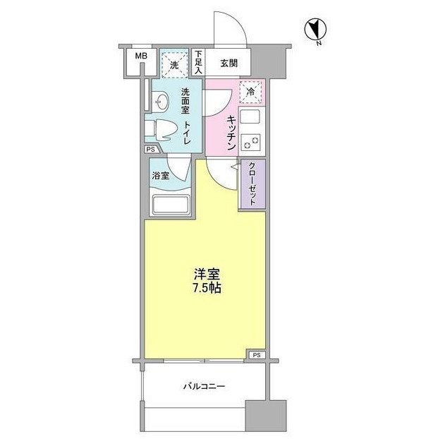 メインステージ白金高輪駅前203号室