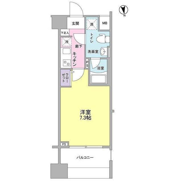 メインステージ白金高輪駅前302号室
