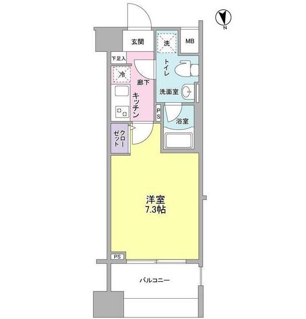 メインステージ白金高輪駅前402号室