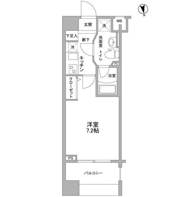メインステージ白金高輪駅前404号室