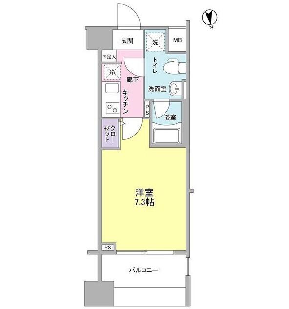 メインステージ白金高輪駅前702号室