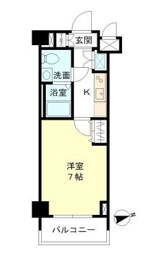 リアルスウィート三軒茶屋405号室