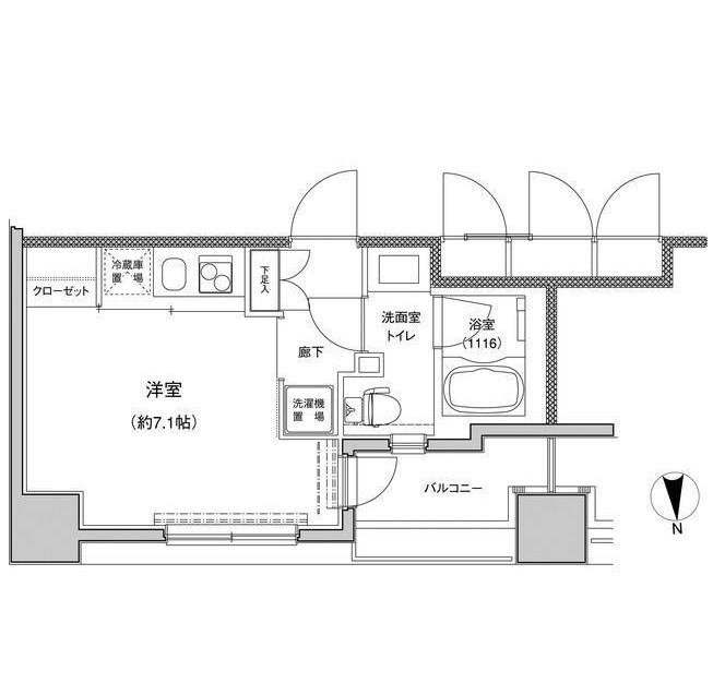 東急セットアップレジデンス恵比寿701号室