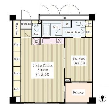 ガーデンコートT406号室