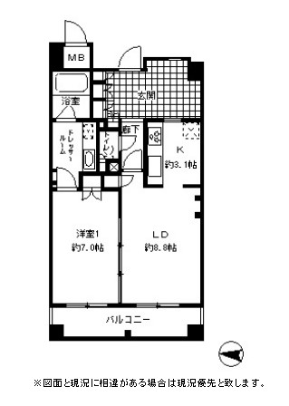 ガーネットコート四谷904号室