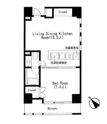 キャビンアリーナ赤坂 404号室