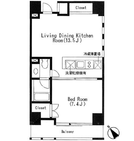 キャビンアリーナ赤坂 504号室