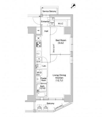 プラウドフラット東中野607号室