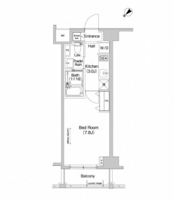 プラウドフラット東中野702号室