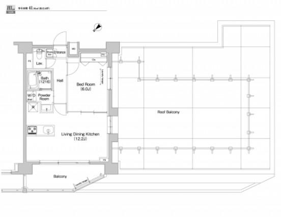 プラウドフラット東中野703号室