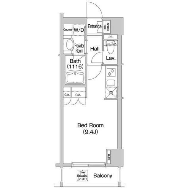 コンフォリア市谷柳町802号室