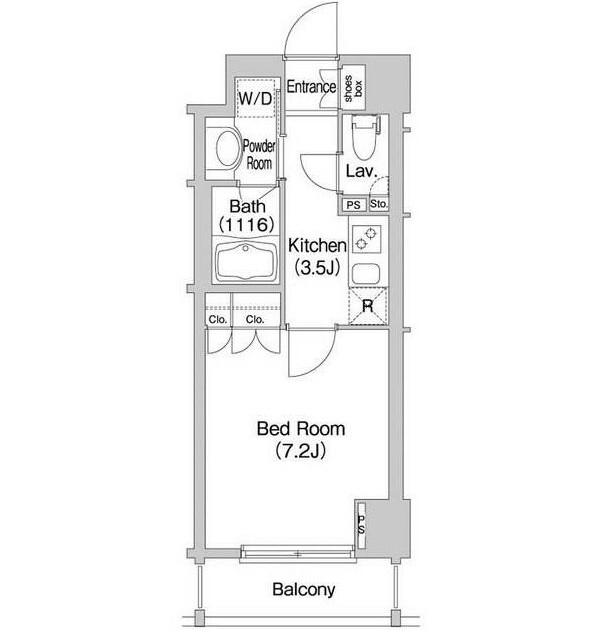 コンフォリア市谷柳町804号室