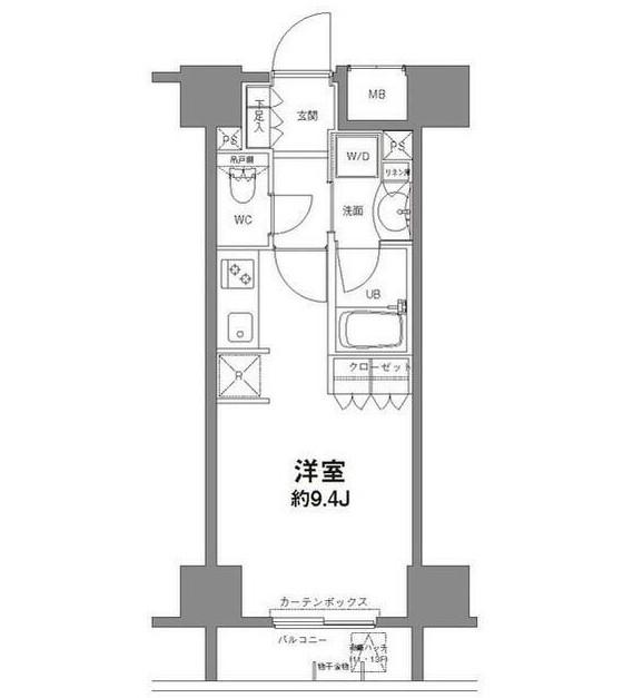 コンフォリア新宿御苑Ⅱ1003号室