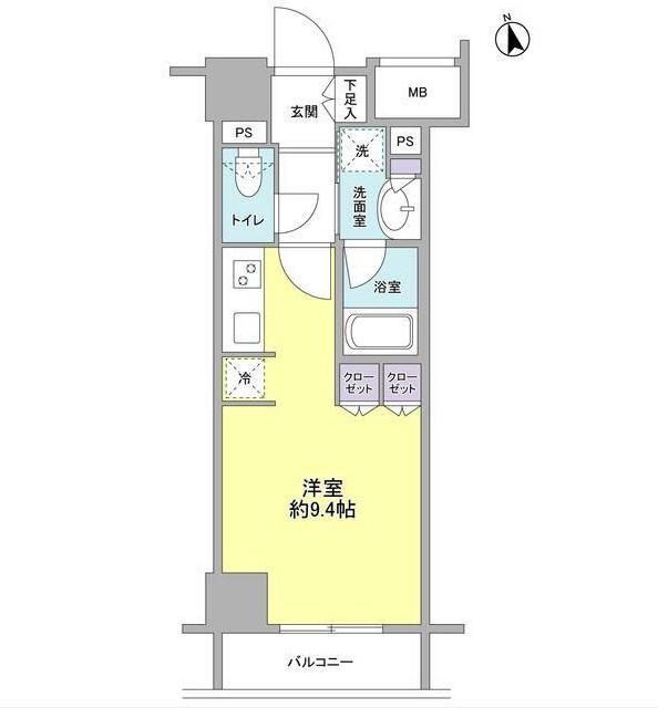 コンフォリア新宿御苑Ⅱ1004号室