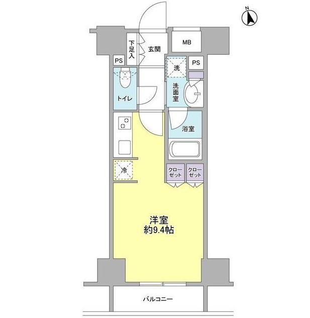 コンフォリア新宿御苑Ⅱ403号室
