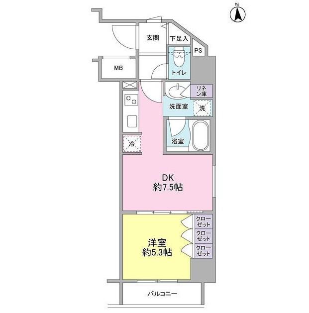 コンフォリア新宿御苑Ⅱ405号室