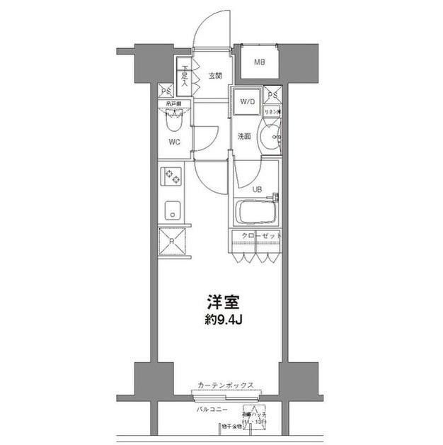 コンフォリア新宿御苑Ⅱ503号室