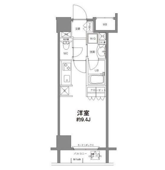コンフォリア新宿御苑Ⅱ504号室