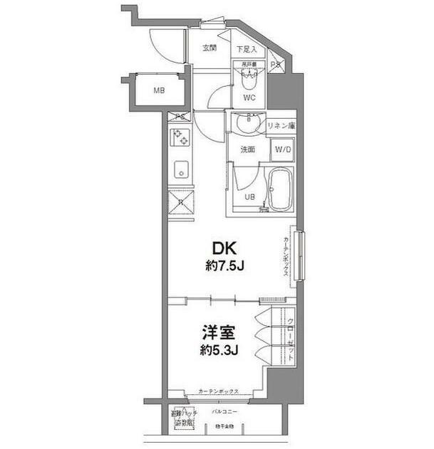 コンフォリア新宿御苑Ⅱ605号室
