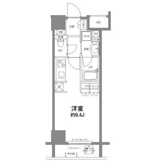 コンフォリア新宿御苑Ⅱ704号室