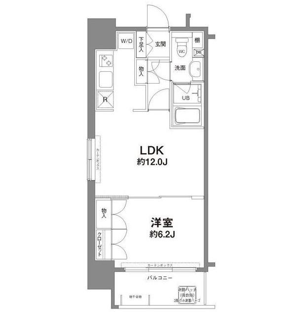 コンフォリア新宿御苑Ⅰ1101号室