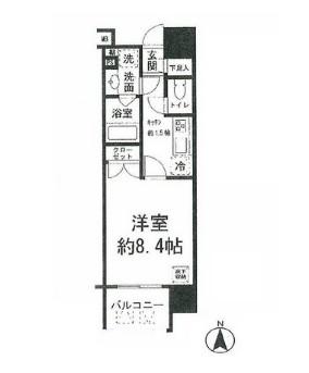 コンフォリア新宿御苑Ⅰ1204号室
