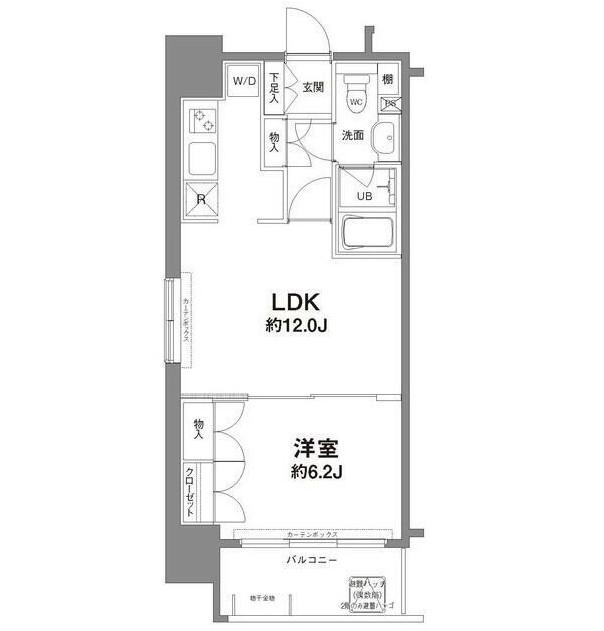 コンフォリア新宿御苑Ⅰ1301号室