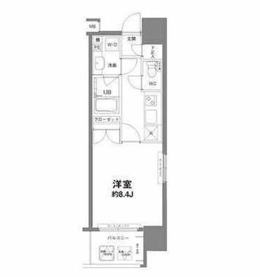 コンフォリア新宿御苑Ⅰ1304号室