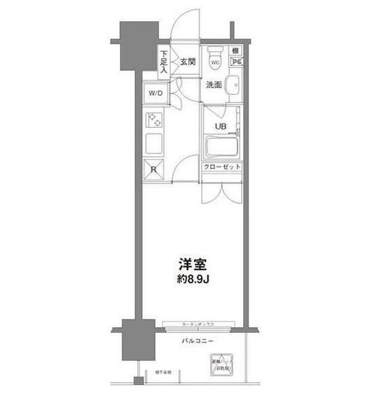 コンフォリア新宿御苑Ⅰ203号室
