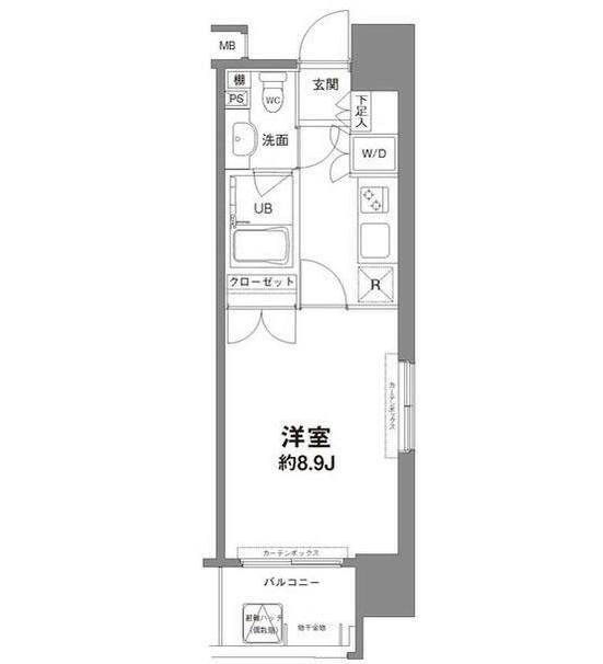 コンフォリア新宿御苑Ⅰ204号室