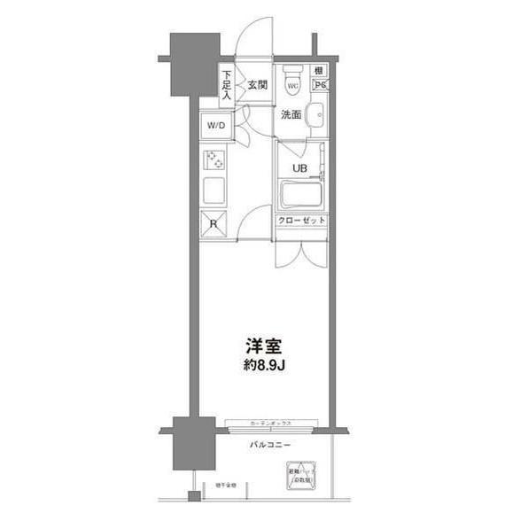コンフォリア新宿御苑Ⅰ303号室