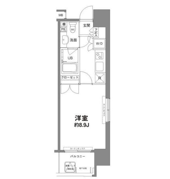 コンフォリア新宿御苑Ⅰ304号室