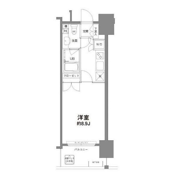 コンフォリア新宿御苑Ⅰ702号室