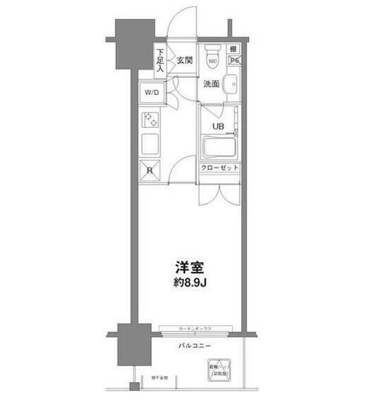 コンフォリア新宿御苑Ⅰ703号室