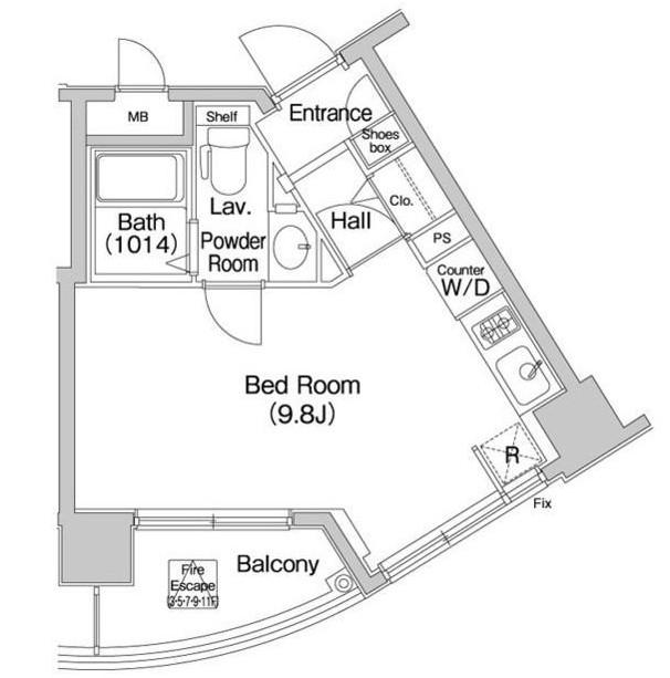 コンフォリア愛宕1003号室