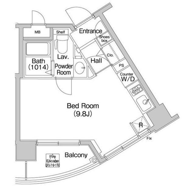 コンフォリア愛宕803号室
